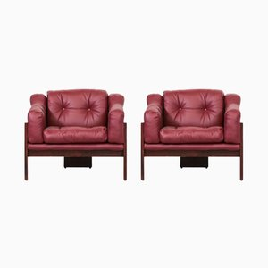 Italian Oriolo Armchairs by Claudio Salocchi for Sormani, 1966, Set of 2