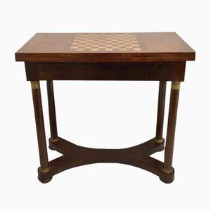 Antiker französischer Empire Spieltisch