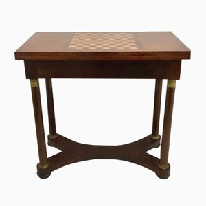 Mesa de juegos francesa Imperio antigua