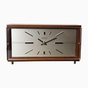 Uhr aus Teakholz von Kienzle International, 1960er