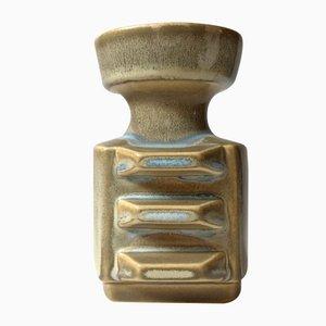 Kantige dänische Keramik Vase von Einar Johansen für Søholm, 1960er