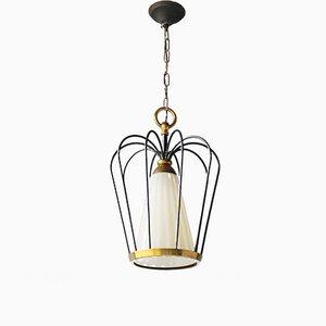 Lámpara colgante italiana vintage