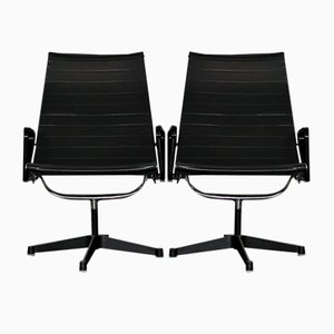 Model EA116 Swivel Chairs by Charles & Ray Eames for Herman Miller, 1950s, Set of 2