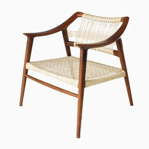 Mid-Century Bambi Easy Chair by Rolf Rastad & Adolf Relling for Gustav Bahus