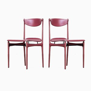 Chairs by Tito Agnoli for Matteo Grassi, 1980s, Set of 2