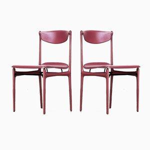 Stühle von Tito Agnoli für Matteo Grassi, 1980er, 2er Set