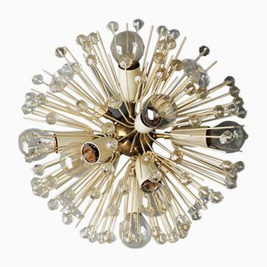Vintage Dandelion Flush Mount by Emil Stejnar for Rupert Nikoll