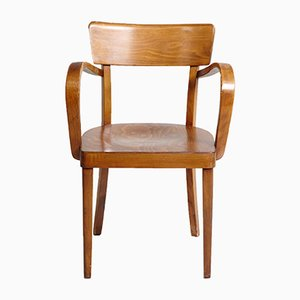 Lackierte Holz Armlehnstühle, 1970er