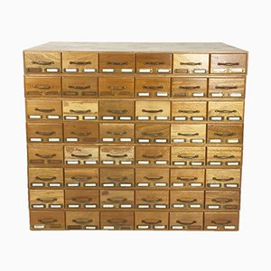 Mid-Century Archive Chest of Drawers