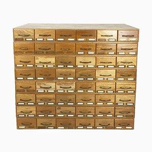 Mueble de archivo Mid-Century