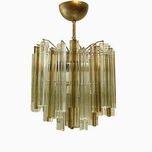 Lámpara de araña Trilobe de Paolo Venini, años 60