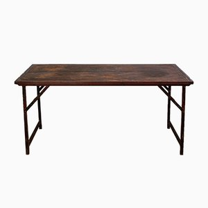 Table de Jardin Industrielle, Inde, 1950s