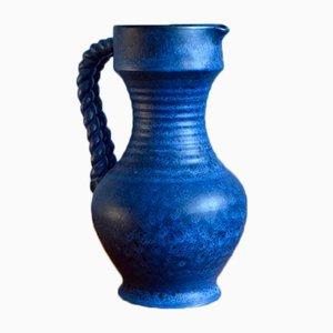 Großer Vintage Keramikkrug von Larh Keramik Stube