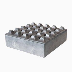 Mid-Century Aluminium Ultima 15 Aschenbecher von Holger Bäckström & Bo Ljungberg für Pascha Ab Lund