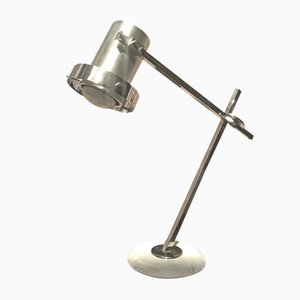 Lampe de Bureau en Acier Chromé, 1970s