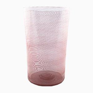 Murano Glas Vase von Carlo Scarpa für Venini, 1934