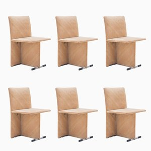 Dining Chairs by Giovanni Offredi for Saporiti, 1971, Set of 6