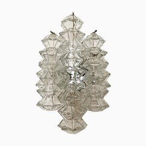 Austrian Pagoda Wall Lamp by J.T. Kalmar for Franken KG, 1960s