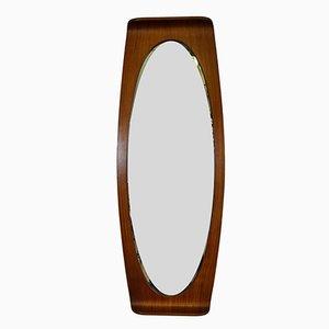 Espejo ovalado de Campo e Graffi para Home, años 50