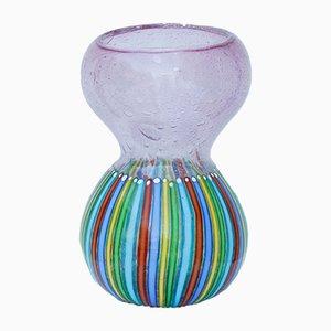 Vage Vintage Multicolore en Verre Soufflé par Angolo Fuga pour Avem