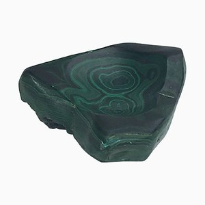 Mid-Century Malachite Ashtray