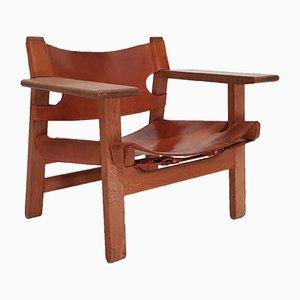 Chaise par Børge Mogensen pour Fredericia Stolefabrik, Espagne, 1967