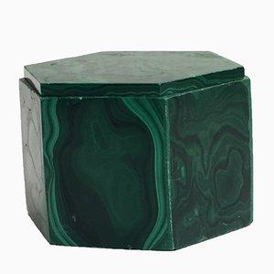 Caja de malaquita, años 50
