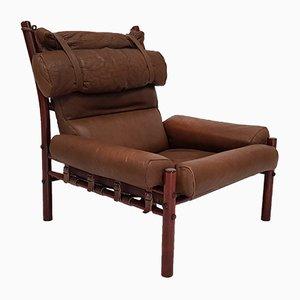 Schwedischer Vintage Inca Sessel von Arne Norell für Norell Mobler