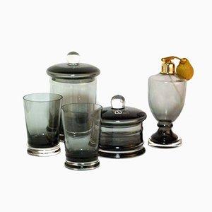 Set da bagno in vetro di Carlo Nason per Seguso, anni '60