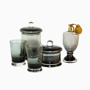 Set de Parfum en Verre par Carlo Nason pour Seguso, 1960s