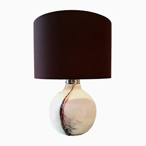 Glass Table Lamp by Michael Bang for Holmegaard, 1970s