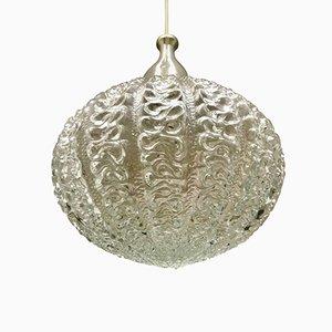 Lampe à Suspension en Verre par J.T. Kalmar, 1960s