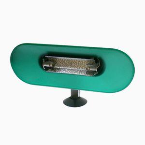 Smaragdgrüne Vintage Wandlampe von King Miranda für Arteluce