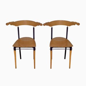 Jansky Chairs by Borek Sipek for Driade, 1989, Set of 2