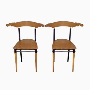 Jansky Chairs by Borek Sipek for Driade, 1989, Set of 2