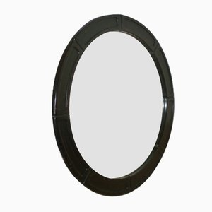 Italian Mirror with Rosewood Frame, 1960s