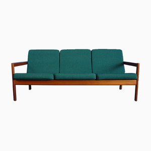 Teak Sofa by Børge Jensen for Magnus Olesen, 1960s
