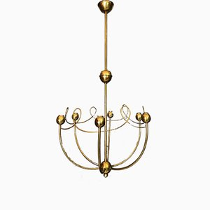 Lámpara de araña italiana Mid-Century