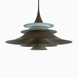 Large Radius II Pendant Lamp by Eric Baslev for Fog & Mørup, 1970s