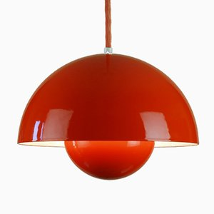 Flowerpot Pendant Lamp by Verner Panton for Louis Poulsen