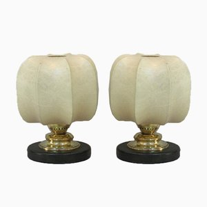 Cocoon Table Lamps, 1960s, Set of 2