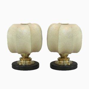 Lampade da tavolo Cocoon, anni '60, set di 2