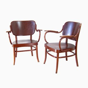 A283 Armchairs by Adolf Schneck for Thonet-Mundus, 1930s, Set of 2