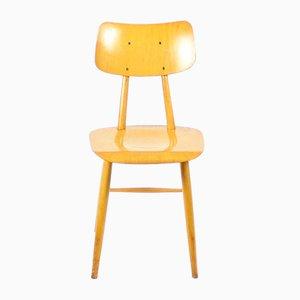Mid-Century Stuhl aus Holz von TON, 1960er