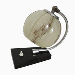 Lámpara de mesa vintage, años 40
