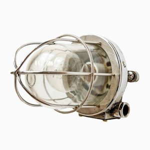Vintage Wall Light with Star Grill