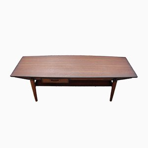 Danish Teak Coffee Table by Johannes Andersen, 1960s