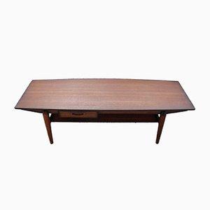 Table Basse en Teck par Johannes Andersen, Denmark, 1960s