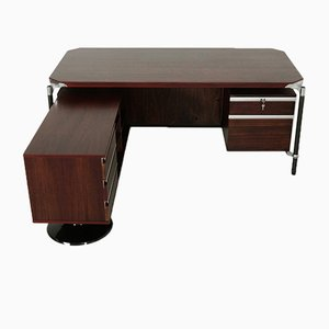 Executive Corner Desk by Ico Parisi for M.I.M Roma, 1960s