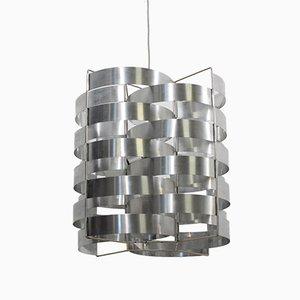Lampe à Suspension en Aluminium par Max Sauze, 1970s
